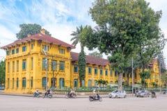Straatmening van Hanoi royalty-vrije stock afbeelding