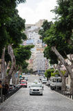Straatmening van Las Palmas, Gran Canaria Stock Afbeeldingen