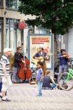 Straatmusici Mainz royalty-vrije stock foto's