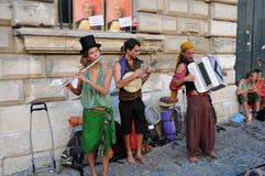 Straatmuziek stock afbeeldingen
