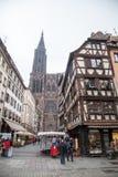 Straatsburg, de Elzas, Frankrijk Stock Fotografie