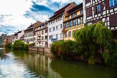 Straatsburg - Weinig Frankrijk Royalty-vrije Stock Afbeeldingen