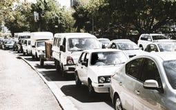 Straatscène in Cape Town royalty-vrije stock afbeelding