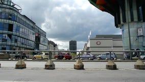 Straatscène van Berlijn stock videobeelden