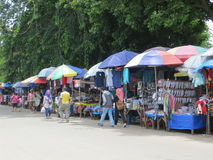 Straatventers in Bogor Stock Afbeelding