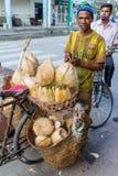 Straatventers van Dar Es Salaam Royalty-vrije Stock Foto