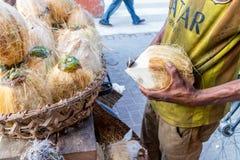 Straatventers van Dar Es Salaam Royalty-vrije Stock Foto's