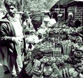 Straatverkoper India Royalty-vrije Stock Afbeelding