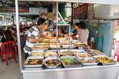Straatvoedsel in Penang Stock Foto