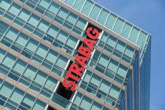 Strabag Construction Company总部 免版税图库摄影