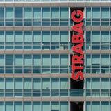 Strabag Construction Company总部 免版税库存照片
