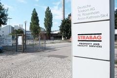 Strabag Rosenheim Royalty Free Stock Image
