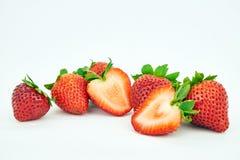 甜straberries 库存照片