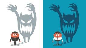 strach royalty ilustracja