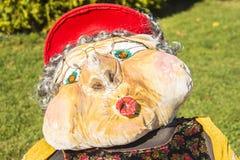 Strach na wróble przy rocznym strach na wróble festiwalem, Mahone zatoka, Cana Zdjęcie Stock