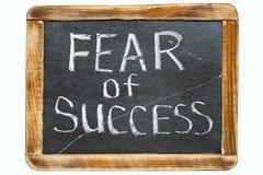Strach sukces fr obraz royalty free