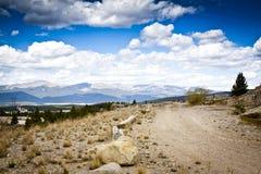 strada 4 x 4 in Colorado fotografia stock libera da diritti