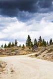 strada 4 x 4 in Colorado immagini stock libere da diritti