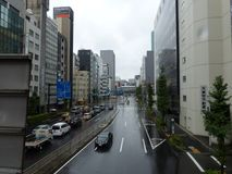 Strada affollata Immagini Stock