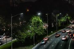 strada affollata in transito fotografia stock libera da diritti