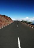 Strada al cielo, Isole Canarie Immagine Stock