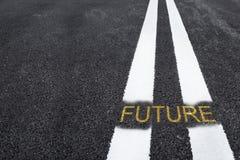 Strada al futuro Fotografie Stock Libere da Diritti