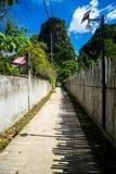 Strada al montain, Tailandia fotografia stock