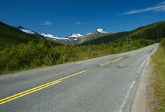 Strada alla montagna Immagine Stock Libera da Diritti