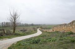Strada Almenar de Soria Fotografia Stock