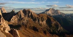 Strada alpina Fotografie Stock