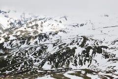 Strada alpina di Grossglockner dell'austriaco alta Fotografia Stock Libera da Diritti