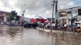 Strada Apapa, Lagos Nigeria di Warf Fotografia Stock Libera da Diritti