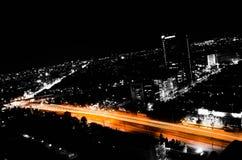 Strada arancio Immagine Stock Libera da Diritti