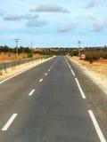 Strada asfaltata nel Marocco immagine stock