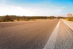 Strada asfaltata vuota Immagine Stock Libera da Diritti