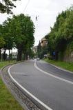 Strada a Bergamo Immagini Stock