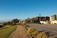 Strada a Brighton, Victoria, Australia immagini stock libere da diritti