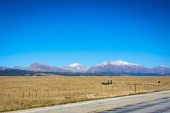 Strada campestre in Colorado fotografia stock