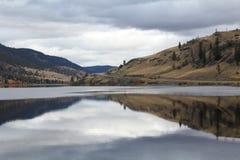 Strada campestre da Nicola Lake, Columbia Britannica Fotografia Stock Libera da Diritti