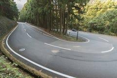 Strada campestre nel Giappone immagine stock