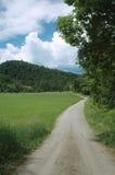 Strada campestre nel Vermont Fotografia Stock