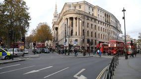 Strada centrale Londra stock footage