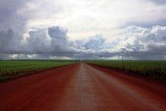 Strada a cielo Immagini Stock Libere da Diritti