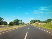 Strada in Colombia Fotografia Stock Libera da Diritti