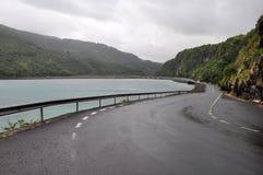 Strada costiera scenica - Mauritius Fotografia Stock