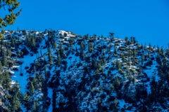 Strada a Crystal Lake nell'inverno in anticipo Fotografia Stock Libera da Diritti