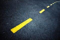 Strada curva Fotografia Stock