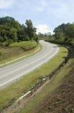 Strada curva immagini stock