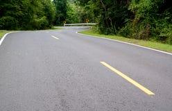 Strada curva Fotografie Stock