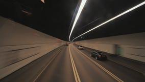 Strada da Hong Kong all'aeroporto Hyperlapse video d archivio